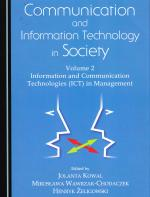 Communication and information technology in society. Vol. 2