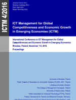 ICT Management for Global Competitiveness and Economic Growth in Emerging Economies (ICTM)