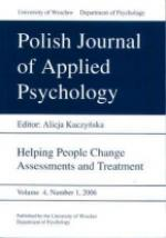 Polish Journal of Applied Psychology. Personality and cognitive characteristics in everyday role functioning